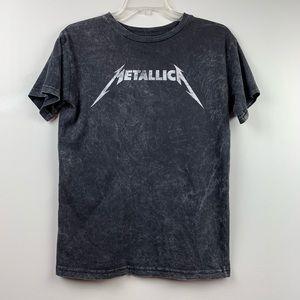Metallica |  Band T Shirt Distressed Logo Tee